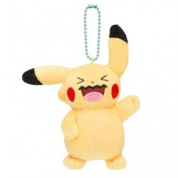 Mascot Plush Keychain Everybody Wobbuffet Pikachu japan plush