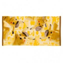 Mini Bath Towel Movie Pikachu Detective japan plush