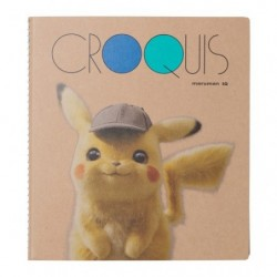 Croquis Book Note Movie Pikachu Detective japan plush