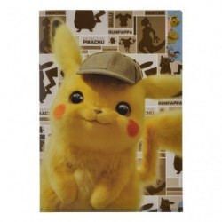Clear File Movie Pikachu Detective japan plush
