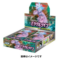 Pokemon Display Card Miracle Twin japan plush