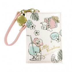 Porte Passe Pikachu number 025 Rose LITTLE RAINBOW japan plush