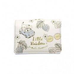 Mini Porte Feuille Pikachu number 025 Blue LITTLE RAINBOW japan plush