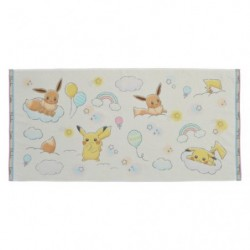 Mini Bath Towel Piakchu Eevee RB japan plush