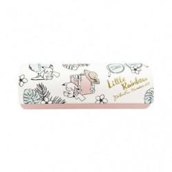 Glasses Case Pikachu number 025 Pink LITTLE RAINBOW japan plush