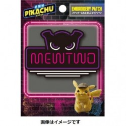 Sticker Neon Sign Mewtwo Pikachu Detective Movie japan plush