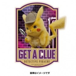 Sticker Travel Pikachu Detective 4 japan plush