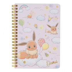 B6 Cahier Note Evoli RB japan plush