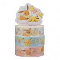 Scotch Pikachu et Evoli RB japan plush