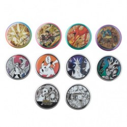 Badge Pokémon EX Drawing Yusuke Murata BOX japan plush
