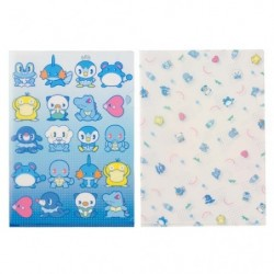 A4 Clear File Good Water japan plush