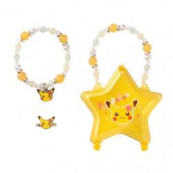 Accessory Set Pikachu Flower japan plush