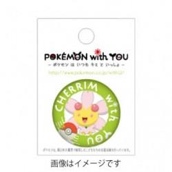 CHERRIM with YOU Badge japan plush