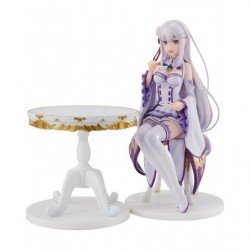Emilia: Tea Party Ver. Re:ZERO -Starting Life in Another World- japan plush