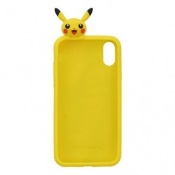 Smartphone Protection Silicone Pikachu japan plush