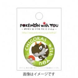CHIGORAS with YOU Badge japan plush