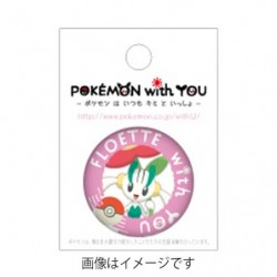 FLOETTE with YOU Badge
