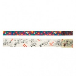 Masking Tape Flower and Cartoon japan plush