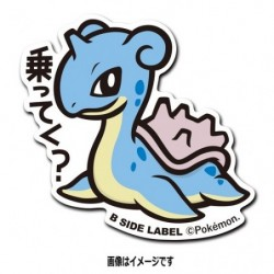 Sticker Lapras japan plush