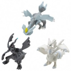 Moncolle Pokemon Battle Legendary Set Vol.3 japan plush