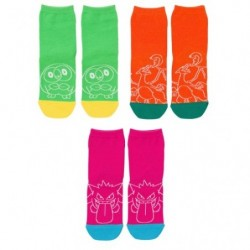 Socks NeonColor Set T3 japan plush