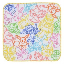 Hand Towel NeonColor japan plush