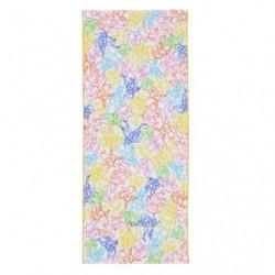 Face Towel NeonColor japan plush