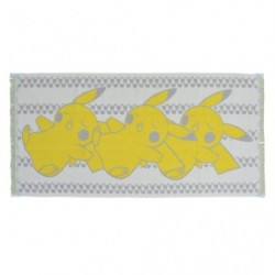 Mini Bath Towel Pikachu Suya Suya japan plush