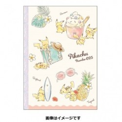 B5 Note Book Pikachu number025 Resort japan plush
