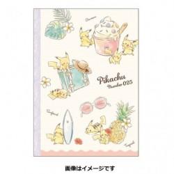 B5 Note Cahier Pikachu number025 Resort japan plush