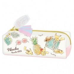 Pen Case Pikachu number025 Resort japan plush