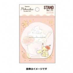 Stand Out Pit Pikachu number025 Resort japan plush