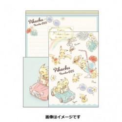 Lettre Pikachu number025 Rainbow japan plush