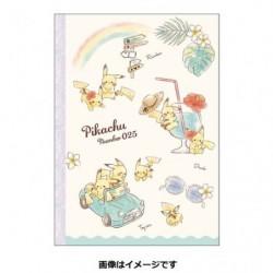 B5 Note Cahier Pikachu number025 Rainbow japan plush