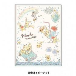 2 Pochettes Pikachu number025 Rainbow