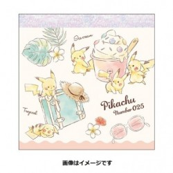 Memo Pikachu number025 Resort japan plush