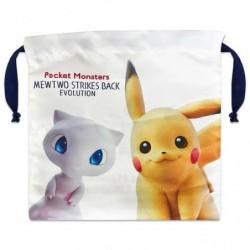 Pocket Mewtwo Evolution Movie Pikachu Mew japan plush