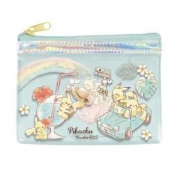 Clear Mini Pocket Pikachu number025 Rainbow japan plush