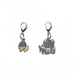 Porte-clé métal Dinoclier Bastiodon 410・411 japan plush
