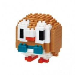 Nanoblock Rowlet japan plush