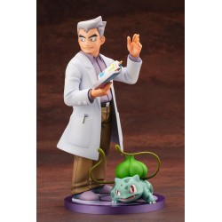 ARTFX Figure Professor Oak and Bulbasaur japan plush