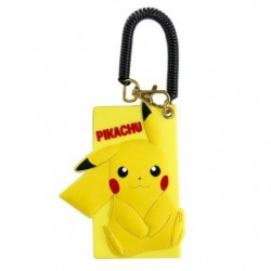 Silicon Pass Case Pikachu japan plush