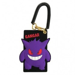 Silicon Pass Case Gengar japan plush