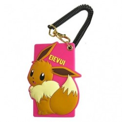 Silicon Pass Case Eevee japan plush