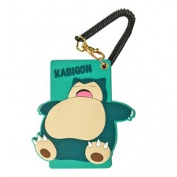 Silicon Pass Case Snorlax japan plush