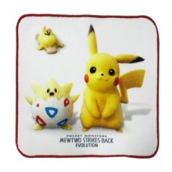 Serviette Main Mewtwo Strike Pikachu japan plush