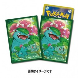 Pokemon Card Sleeves Venusaur japan plush