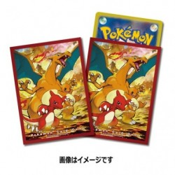 Pokemon Card Sleeves Charizard japan plush