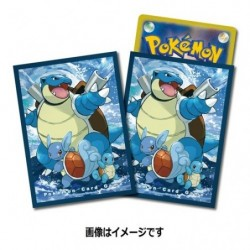 Pokemon Card Sleeves Blastoise japan plush