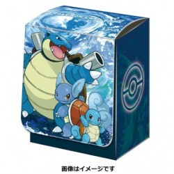 Pokemon Deck Box Tortank japan plush